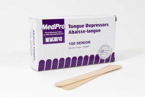 Abaisse langue, non stérile Boîte de 100 unités