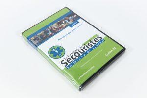 DVD, formation de secouristes en milieu de travail