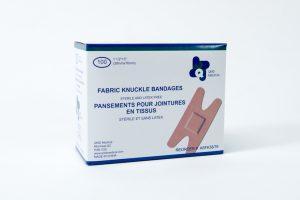Pansements pour jointures en tissus